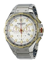 ROMANSON Men&#39s Chronograph WATCHES AM2628HM1CAS1W